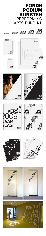 Fonds Podiumkunsten | Lava Graphic Design, Amsterdam