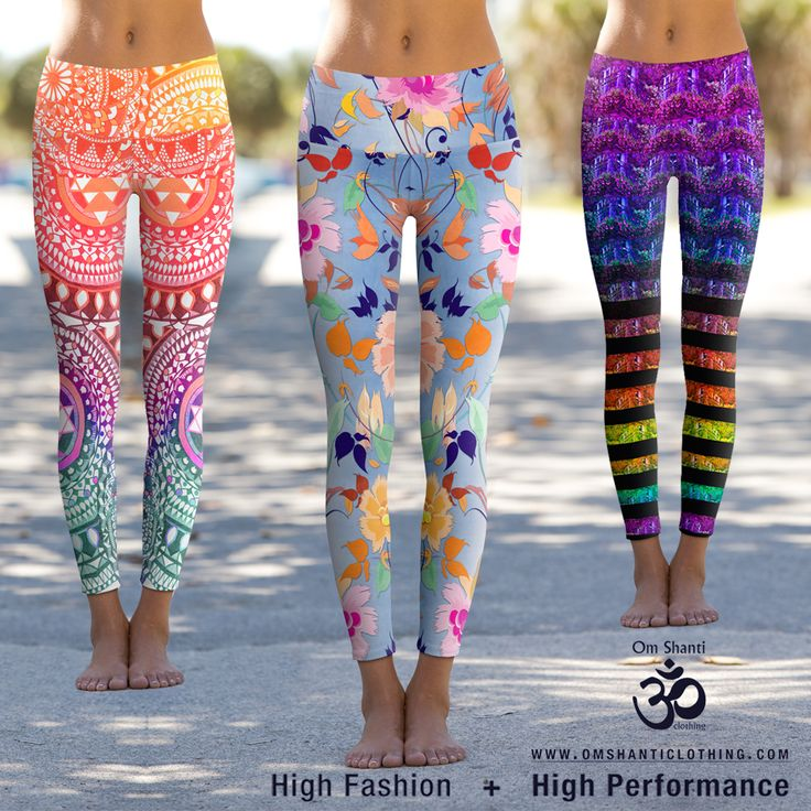 In case you havent heard, Om Shanti Clothing leggings are getting better and… Yoga Fitness - http://amzn.to/2hmQneS