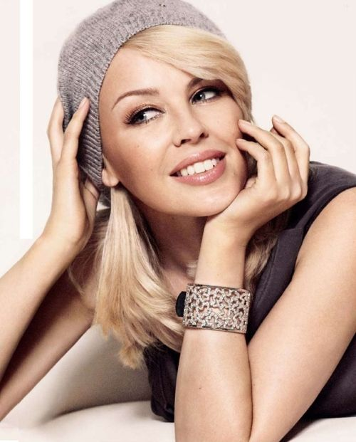 Kylie Minogue, beautiful, talented, definitely a favorite celeb of mine!!!