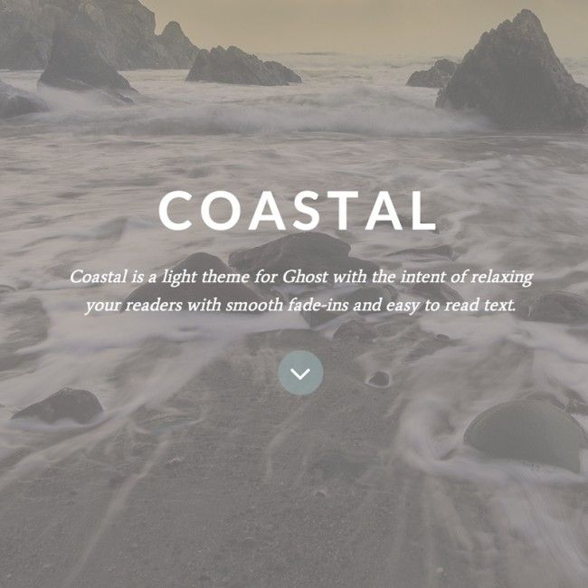 Coastal Ghost Theme