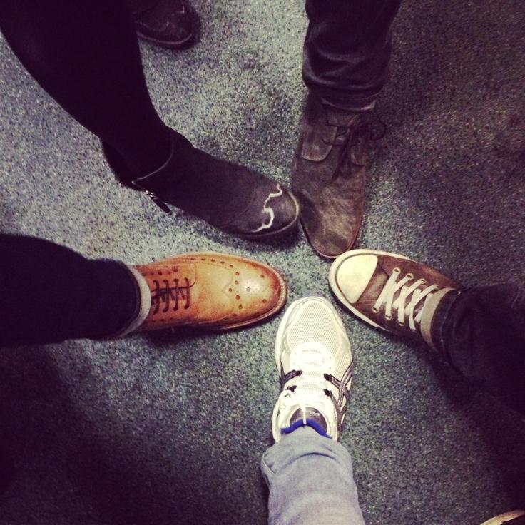 #shoesinsitu 5 Shoes together