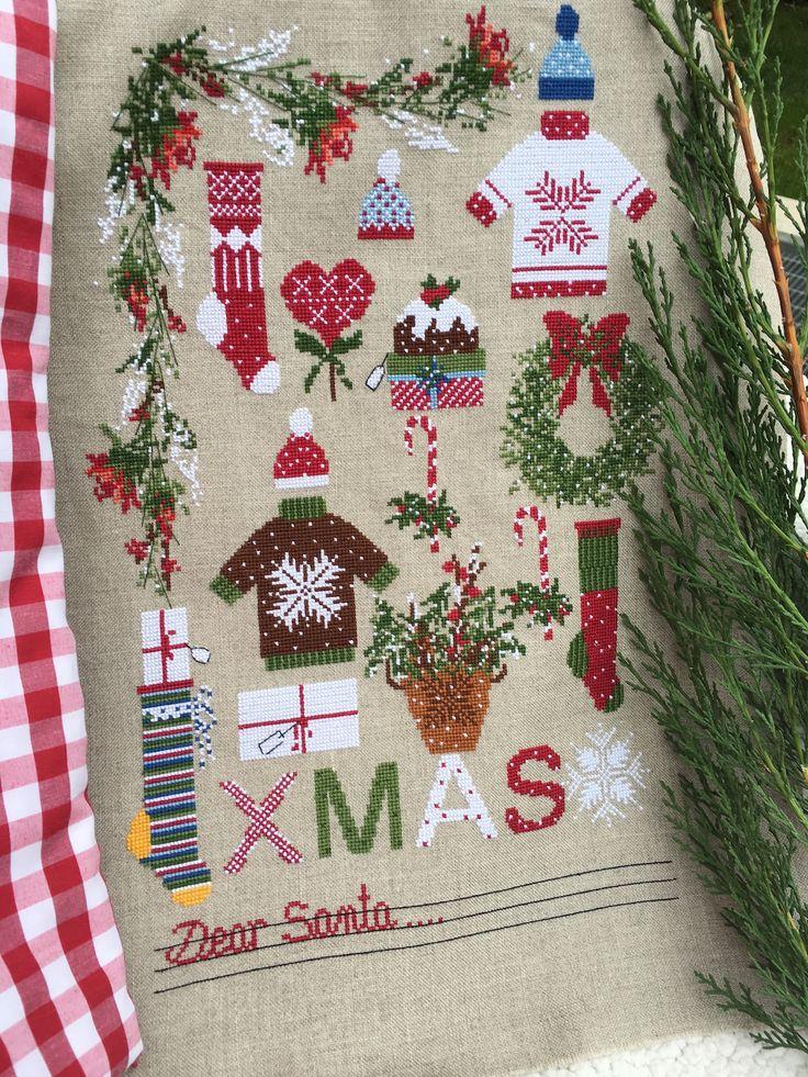Dear Santa Charts Lilli Violette