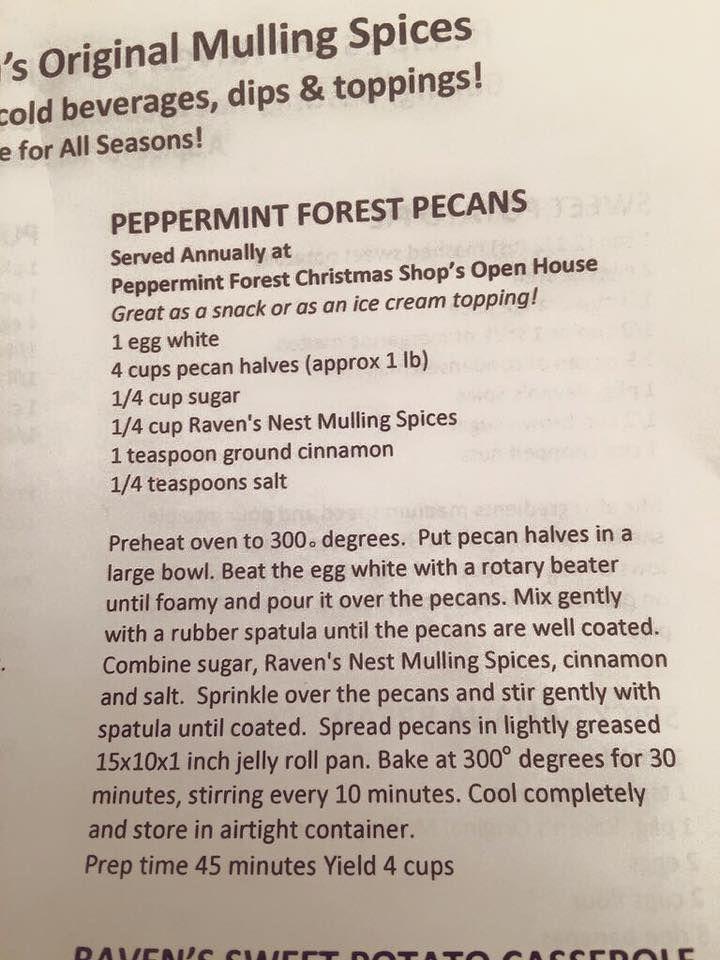 Anna Kooiman's Peppermint Forrest Pecans