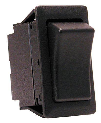 Scion OEM Style Rocker Switch (used for: Scion tC xB xA, Toyota 4Runner FJ Cruiser Celica Matrix Tacoma Tundra Landcruiser, Nissan Frontier, Lexus IS300 SC300 SC400) - Without Light - On / Off
