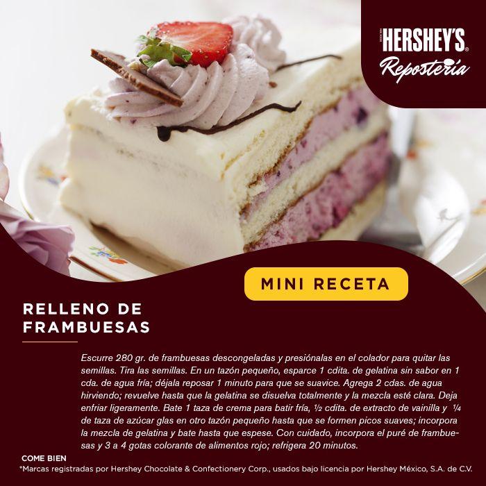 ¡La #MiniReceta que te hacía falta para tus postres! #Hersheys #Chocolate…