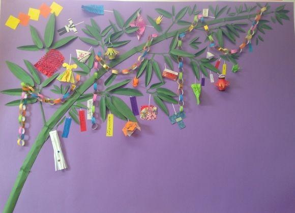 紙で作る 七夕飾り