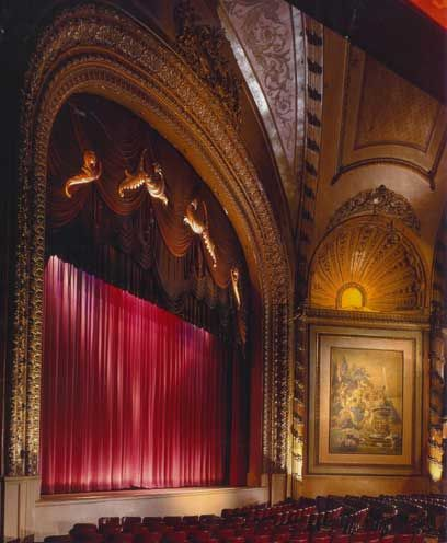 Old movie theaters in LA: The Palace.