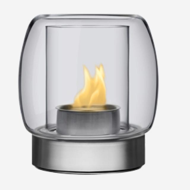 Iittala fireplace Finnish Design