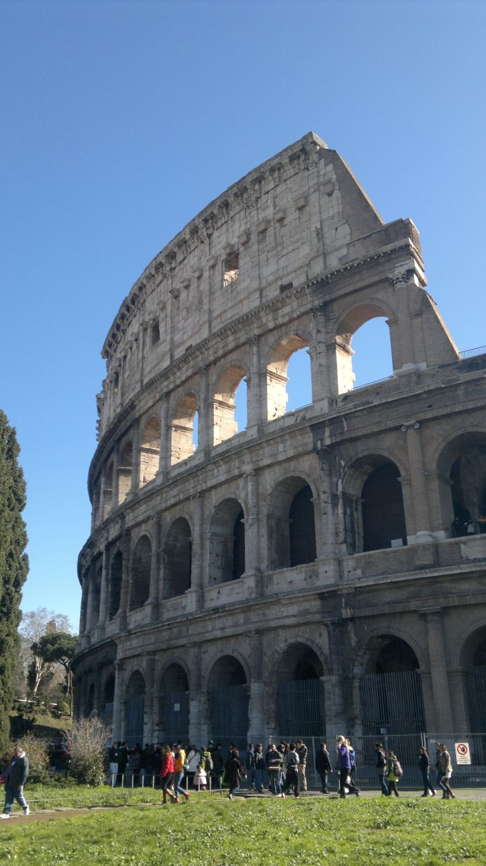 Rome's Colosseum  (the heart & the arrow) #ttct