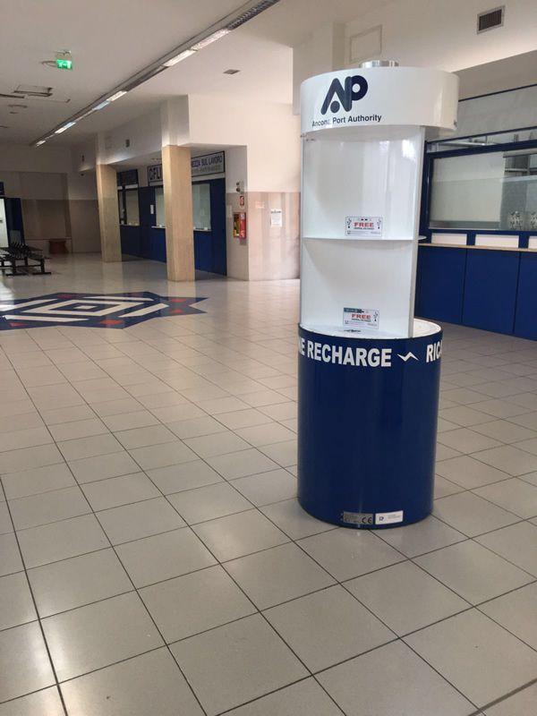 Charge Point Pila 1.03 | Ancona Port Authority