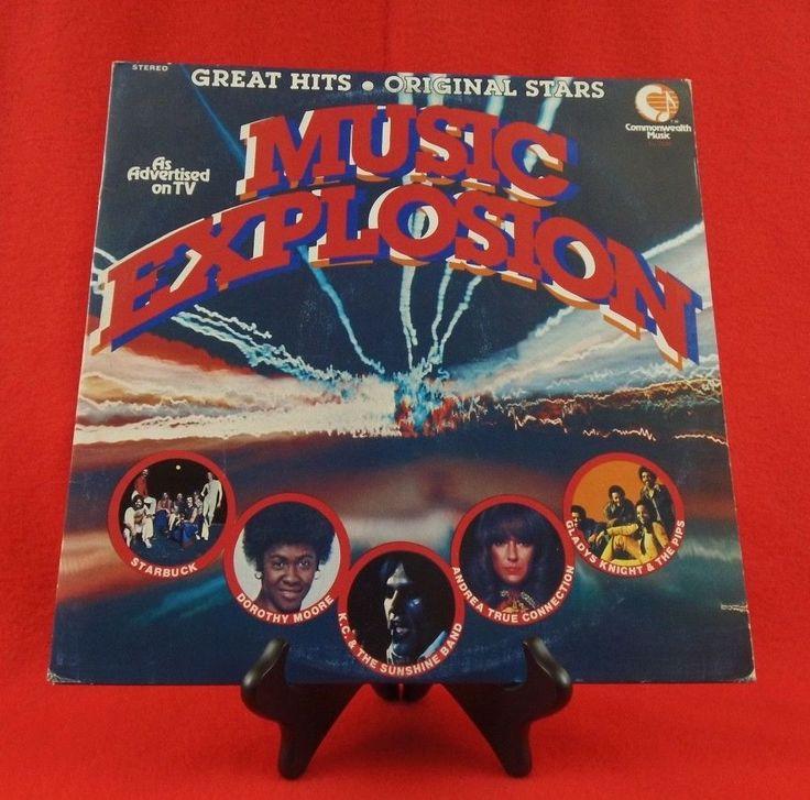 Music Explosion 77 LP Orig 70's Disco Classic On Vinyl Funk/Soul/Pop #1970sDancePopPopRock