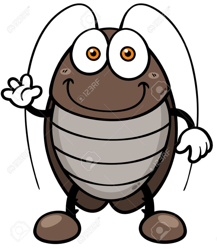 30147740-Ilustraci-n-vectorial-de-la-cucaracha-de-dibujos-animados-Foto-de-archivo.jpg (1137×1300)