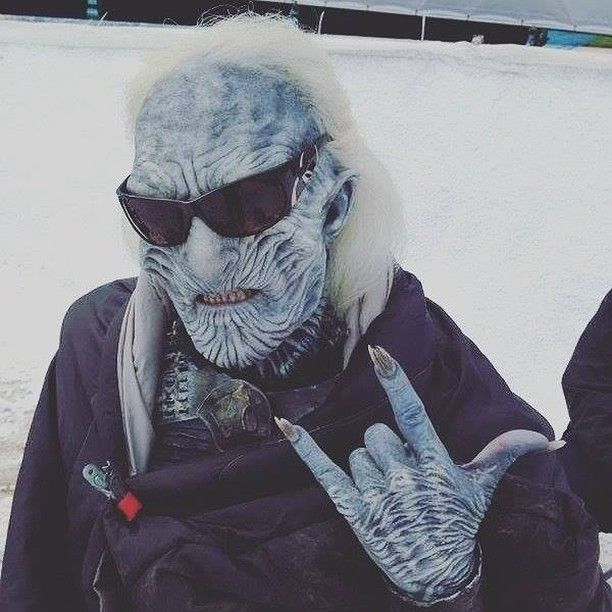 Even the White Walkers need a break to chill out and have fun  #GameOfThrones #GoT #JonSnow #HouseStark #GameOfThronesMemes #Hodor #IronThrone #Khaleesi #Dragons #Lannister #Westeros #HBO #Cersei #JaimeLannister #TyrionLannister #ASongOfIceAndFire #Targaryen #ValarMorghulis #Winterfell #SansaStark #AryaStark #asoiaf #Daenerys #maisiewilliams #sophieturner #emiliaclarke #KitHarington