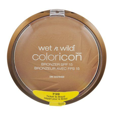Wet n Wild Coloricon Bronzer SPF 15 Ticket To Brazil 739, 0.46 OZ