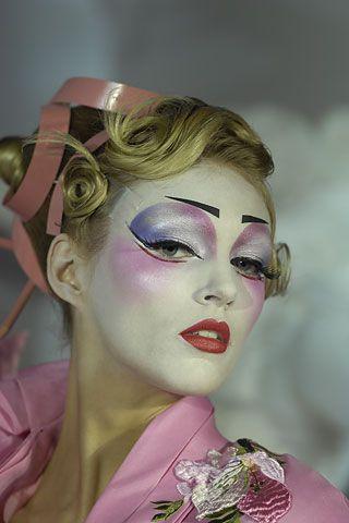 galliano dior | Maquillaje - John Galliano para Dior alta costura 2007