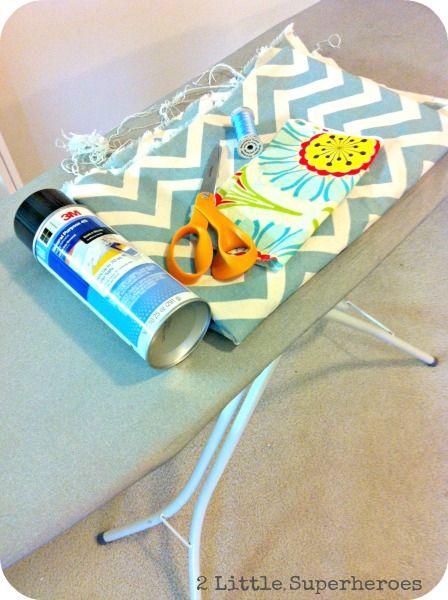 ironingboardmaterials DIY Ironing Board Cover