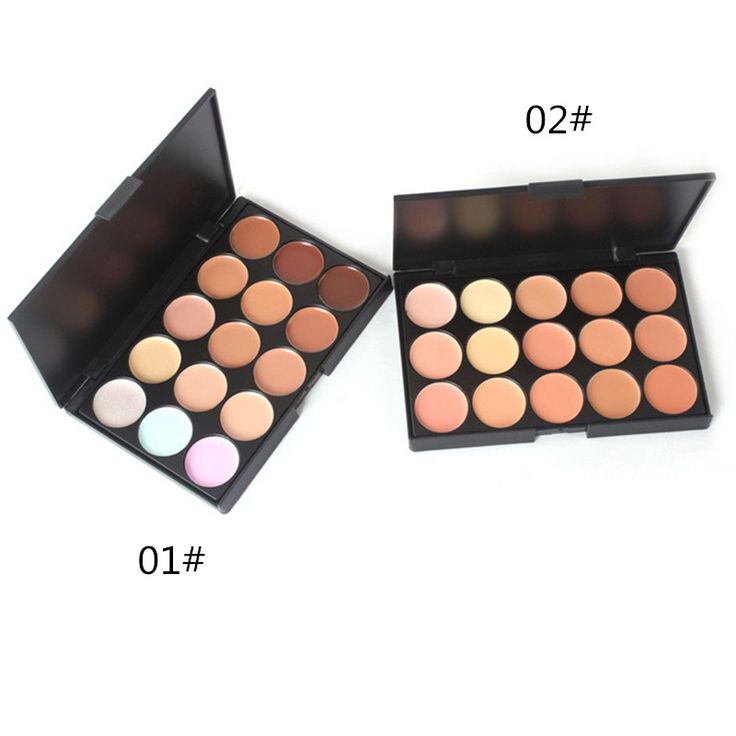 Professional Base Makeup Concealer Foundation Cream 15 Colors Oil-control Moisturizing Cover Pore Camouflage Contouring Palette