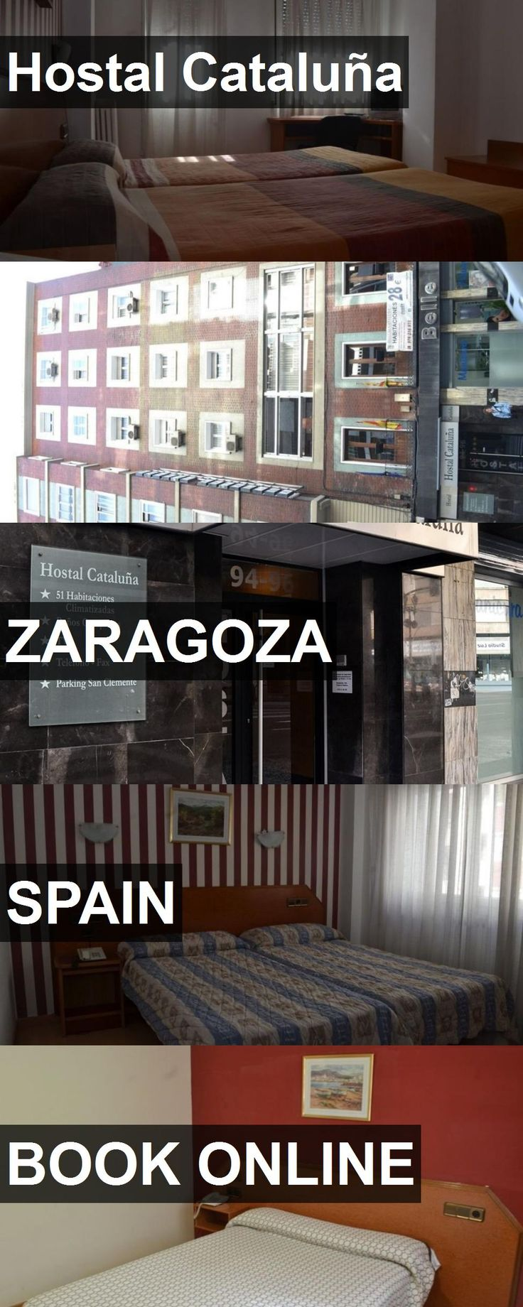 Hotel Hostal Cataluña in Zaragoza, Spain. For more information, photos, reviews and best prices please follow the link. #Spain #Zaragoza #travel #vacation #hotel