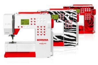 Skins-mallit: oma henkilökohtainen BERNINA 215 -koneesi
