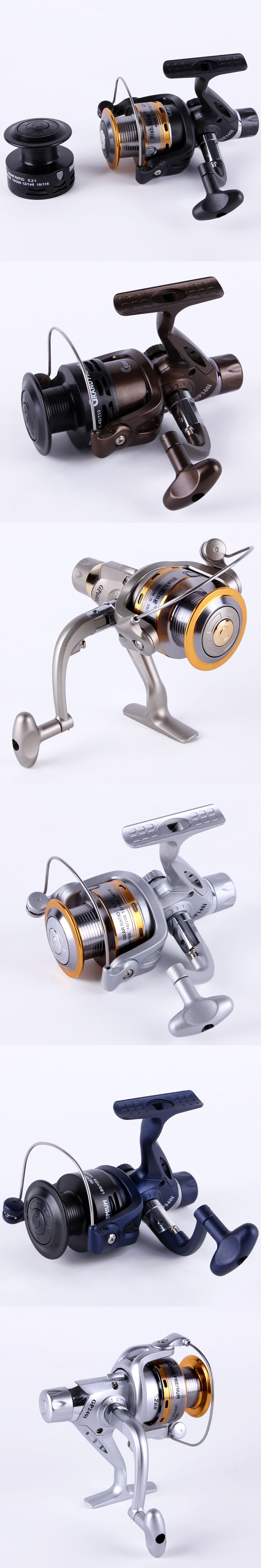 FISH KING Spinning Reel Fishing Reel Series Boat Rock Carp Fishing Wheel Aluminum Spool