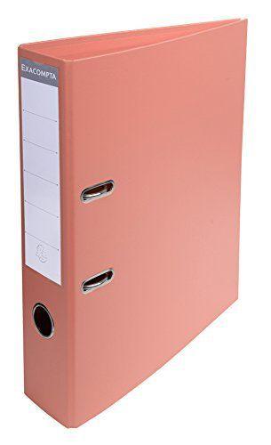 Exacompta 53705E Classeur à Levier PVC 2 Anneaux Format A4 Dos de 70 mm Saumon: Description du produit: Exacompta – 53705E Type de produit:…