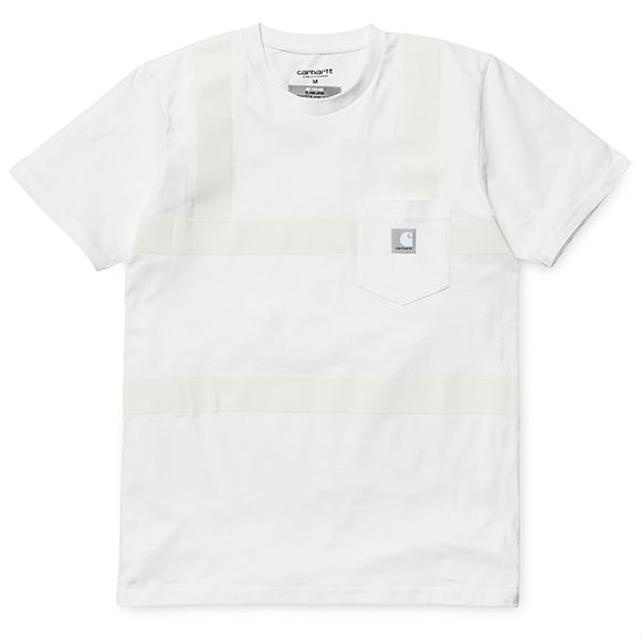 Slam Jam x Carhartt WIP Reflective Pocket T-Shirt - White