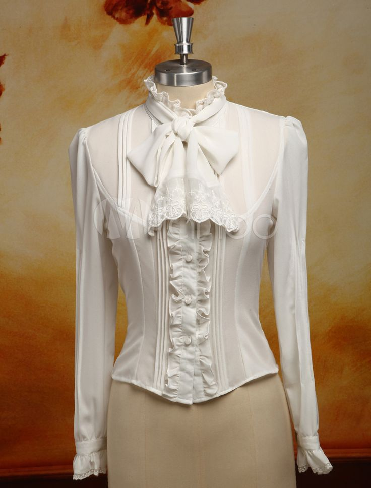 Victorian Blouses, Tops, Shirts, Vests | Victorian blouse ...