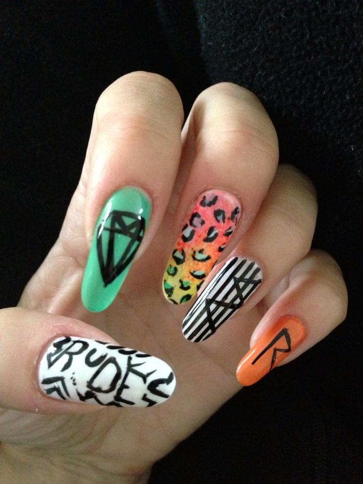 Rihanna nails   Nails   Pinterest