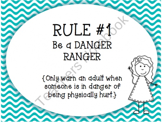 tattle tongue rule posters from sparkling in second on teachersnotebookcom 6 pages
