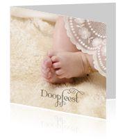 Uitnodiging maken voor de doopdienst Natuurlijk wil je dat familie en vrieden aanwezig zijn bij jouw doop of die van je kindje. Nodig hen uit met een mooie kaart!