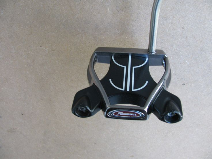 LH BLACK TAYLORMADE ROSSA MONZA SPIDER PUTTER 35 GOLF CLUB LEFT HANDED AGSI