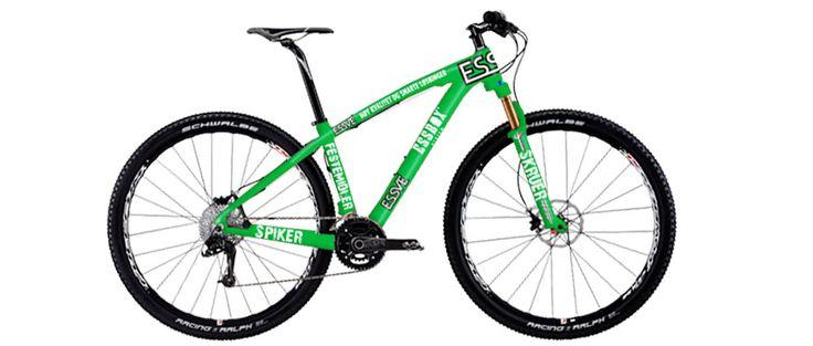 Essve design on bike