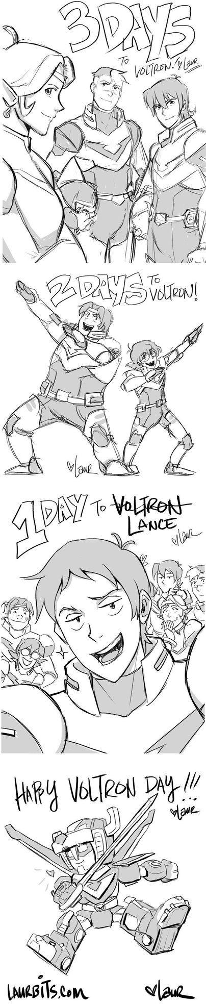 Countdown to Voltron sketches by laurbits.deviantart.com on @DeviantArt