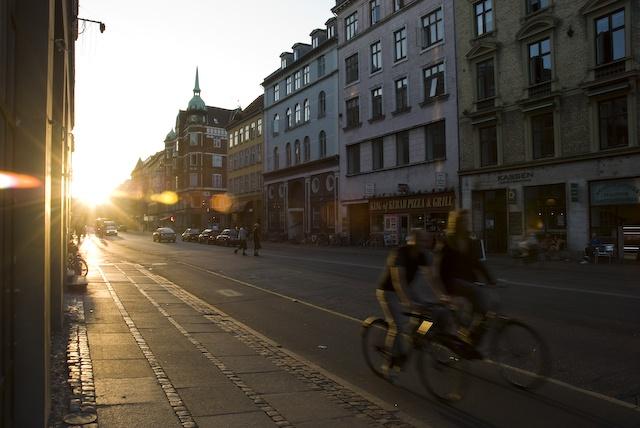 Nørrebro, #Copenhagen - early morning (by unknown)