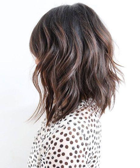medium lang haar bruin