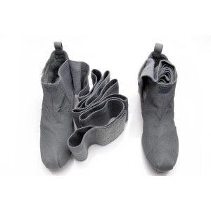$71.5 Discount Toms Wrap High Dark Grey Boots How Much Are Toms Shoes
