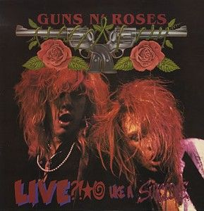 "Guns n' Roses, Live ?!*@ Like a Suicide****: I wonder how I would have felt about Guns N Roses if I had heard this in '86. I didn't get the chance to listen to this until the ""Lies Lies Lies"" album in '88, but if I had heard this in '89 would I have enjoyed it and then anticipated the release of ""Appetite for Destruction."" I will never know, but I'd like to think that it would have blown me away in '86, sending me in search of their debut album instead of stumbling across it by accident…"