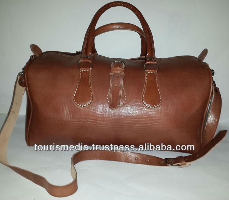 coklat buatan tangan desain Maroko tas travel kulit dibuat di marrakech X02 -gambar-Tas perjalanan-ID produk:147887170-indonesian.alibaba.com