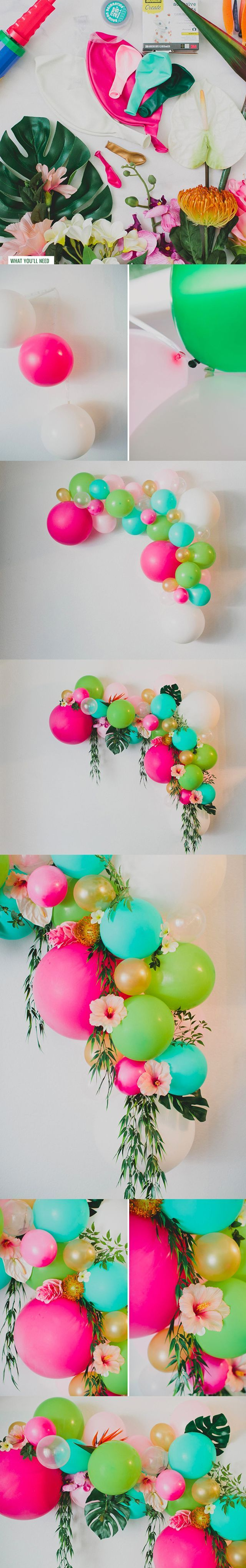 94 best images about balloon decor step by step on