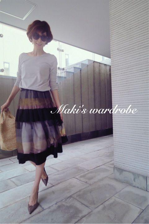 スカートwardrobe の画像|田丸麻紀オフィシャルブログ Powered by Ameba