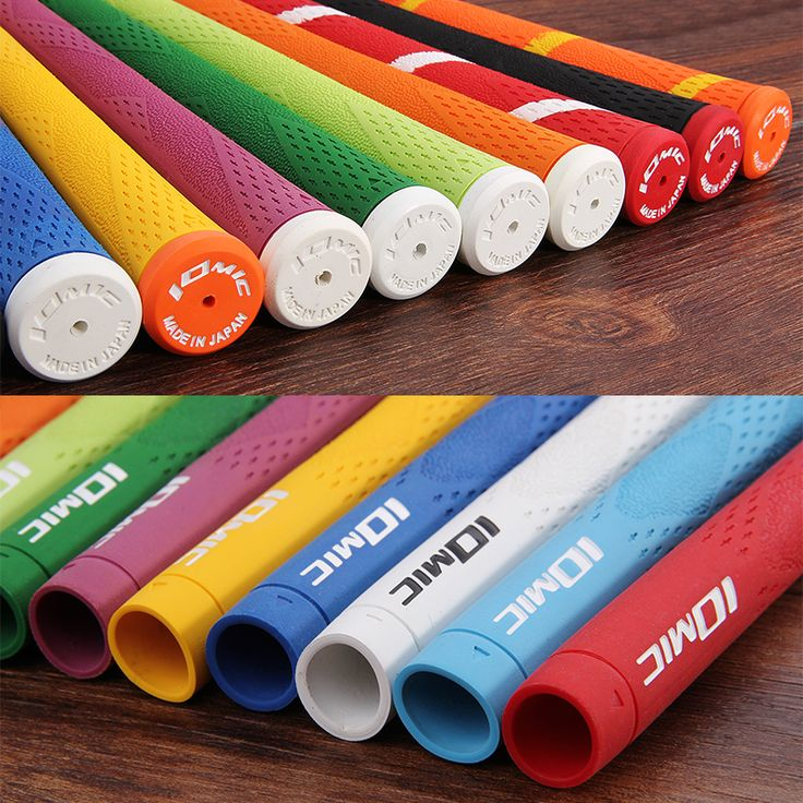 Siran De Golf 1 pcs/Lot. New Golf fers Grips IOMIC Golf Clubs Grip 10 couleur Golf Grips Livraison gratuite