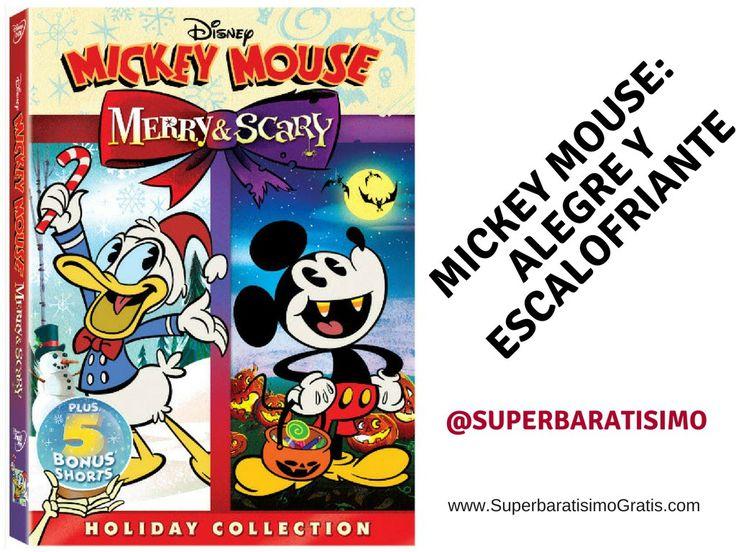 """#Sorteo: MICKEY MOUSE: ALEGRE Y ESCALOFRIANTE a la venta el 26 de Septiembre Sinopsis The Scariest Story Ever: A Mickey Mouse Halloween Spooktacular! Para Halloween, Mickey decoró su casa como una """"tumba, dulce tumba"""" y junto con sus amigos Donald y Goofy ¡planea contar historias espeluznantes de Halloween! Sin embargo, su intento de ser atemorizante fracasa rotundamente. ¿Podrá Mickey [...]"""