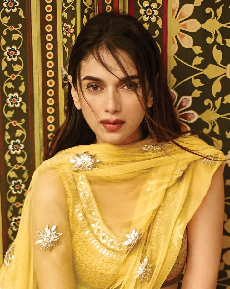 Paint your love bright, happy and sparkly... The colour of love this summer. #CanaryYellow #ColourOfTheSeason Aditi Rao Hydari #LoveNotesByAnitaDongre