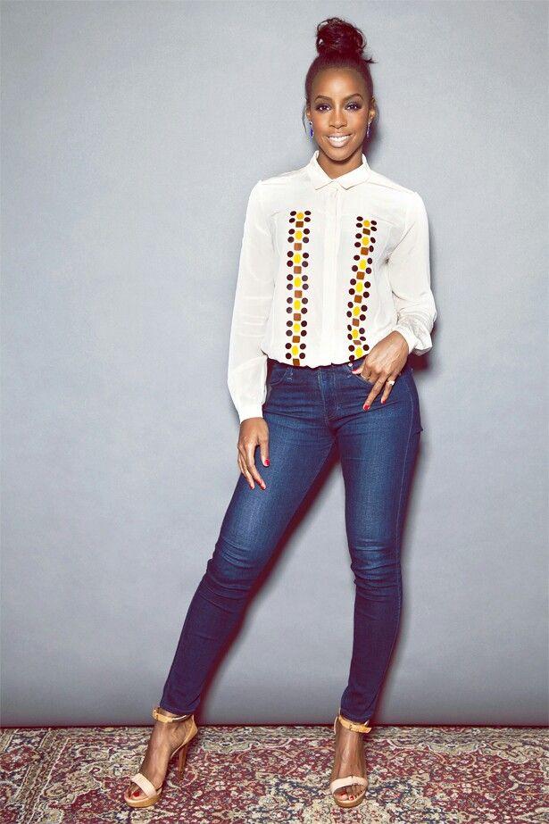 Kelly Rowland casual fashions
