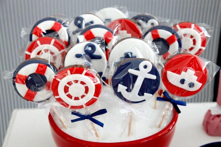 enfeites de mesa festinha de marinheiro - Pesquisa Google