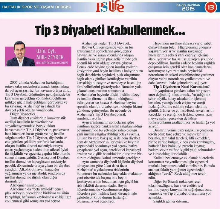 Tip 3 Diyabeti Kabullenmek