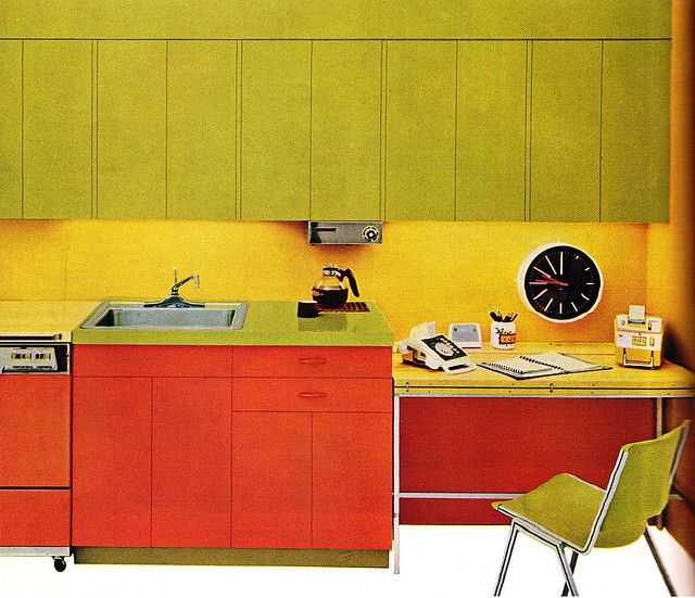 Retro Kitchen Design You Never Seen Before: 292 Best Images About 70s Interiors On Pinterest