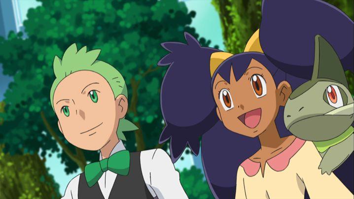 Cilan and Iris | Pokémon | Pinterest | Irises