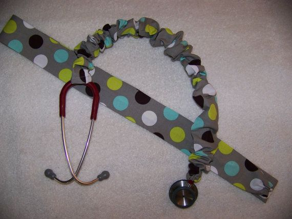 Stethoscope Cover by BonnieRobbins on Etsy, $5.00