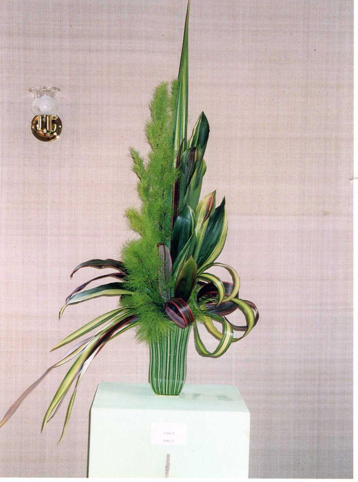 All Foliage Flower Arrangements Google Search Purple
